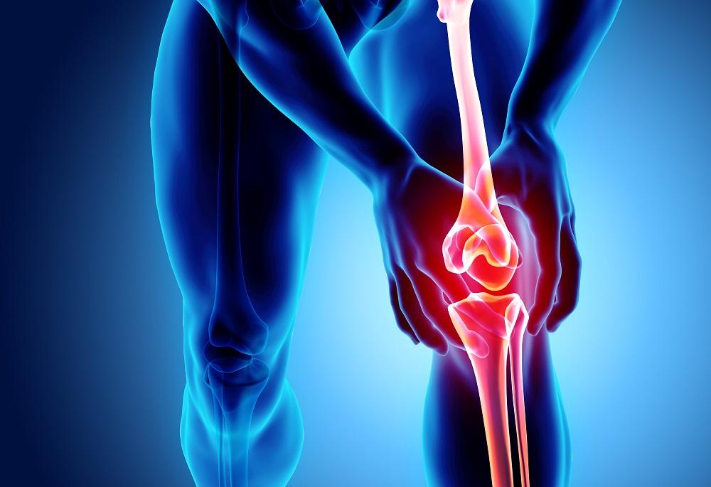 a láb és a térd károsodása