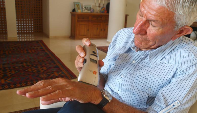 A sarokpótlás kezelése a Vitafon segítségével - Térd