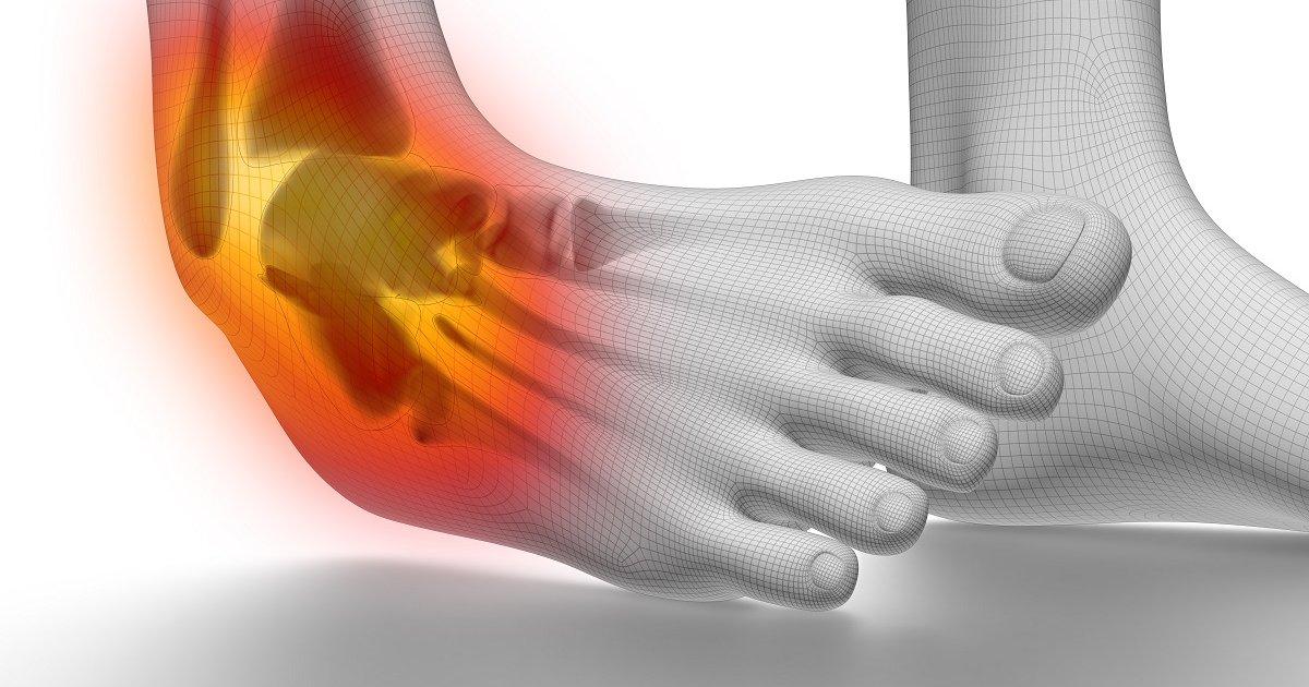 fájdalom a boka séta után edzés után a csípőízület fájdalma