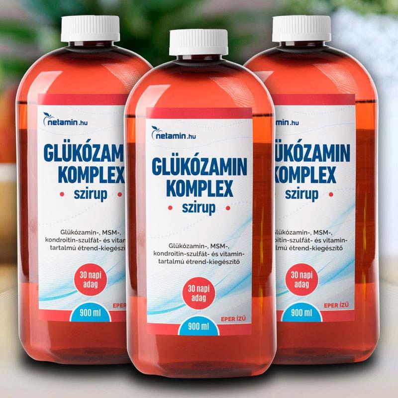 kondroitin-szulfát és glükozamin készítmények